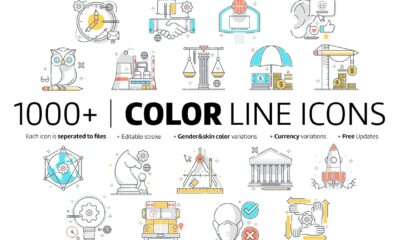 color-line-icons-www.mockuphill.com