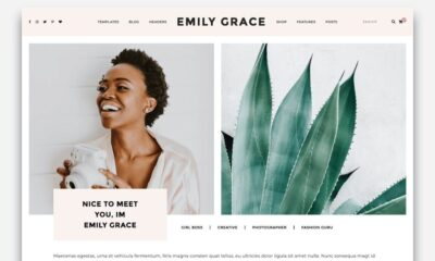 emily grace blog website theme-www.mockuphill.com