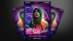 Neon-Party-Poster-Template-www.mockuphill.com