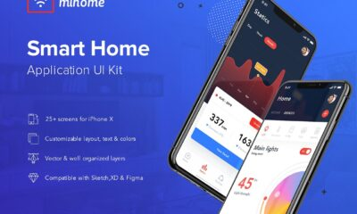 My Home-Smart-Home-UI-Kit-www.mockuphill.com