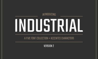 Industria-Sans-Font-Collection-www.mockuphill.com