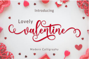 lovely-valentine-day-font-www.mockuphill.com