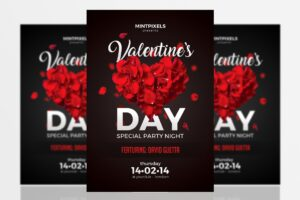 cover-image-valentines-day-party-a5-flyer-www.mockuphill.com