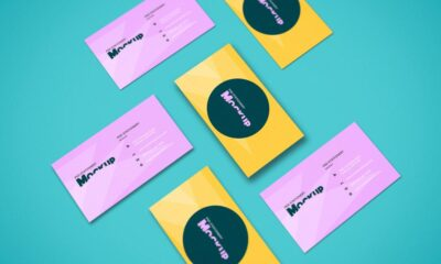 perspective-business-cards-mockup-www.mockuphill.com