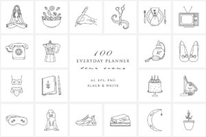 Everyday-Planner-Line-Icon-Set-www.mockuphill.com
