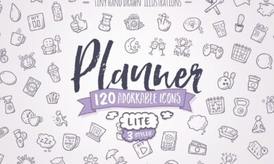 Planner-Lite-Hand-Drawn-Icons-www.mockuphill.com